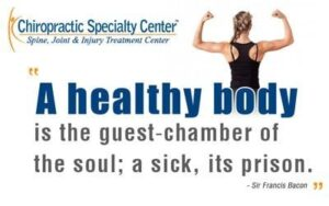 A healthy body is the guest chamber of the sole, vitamin