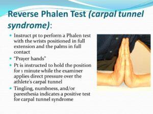 reverse phalen test