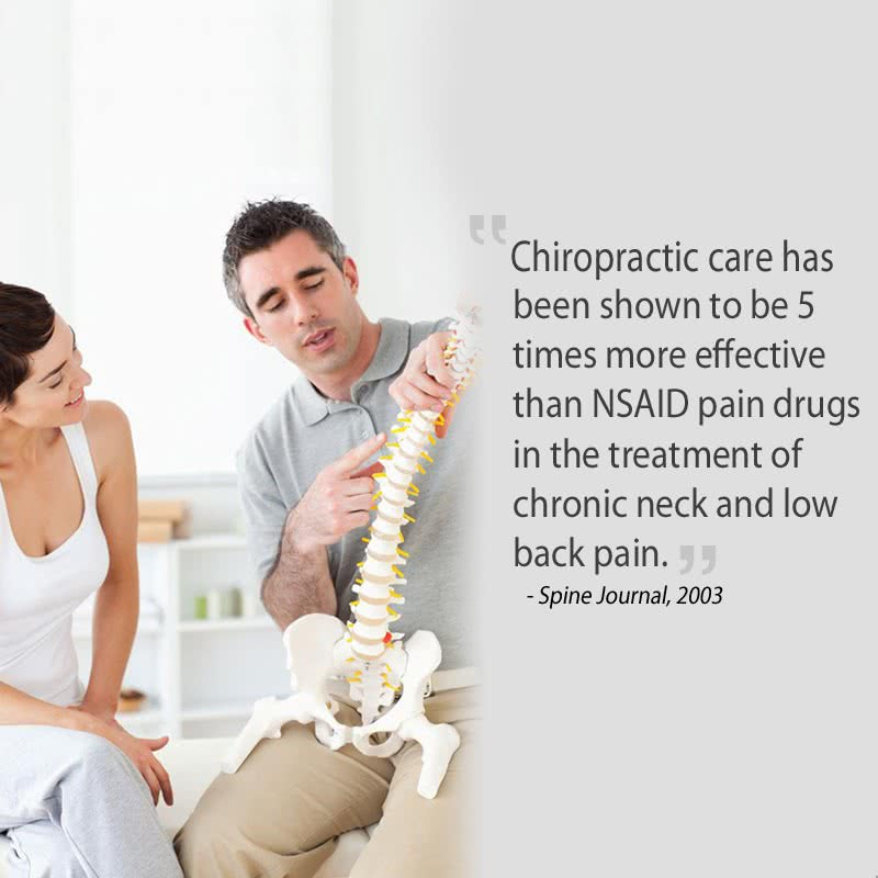 chiropractic can heal back pain
