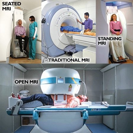 various MRI scan methods