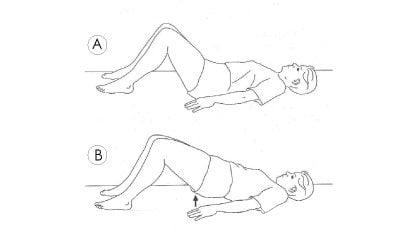 Pelvic thrust exercise