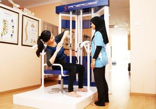 back exercises on Spinercise